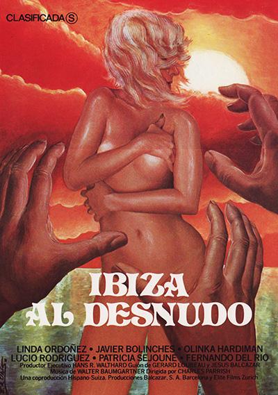 Ibiza al desnudo cartel