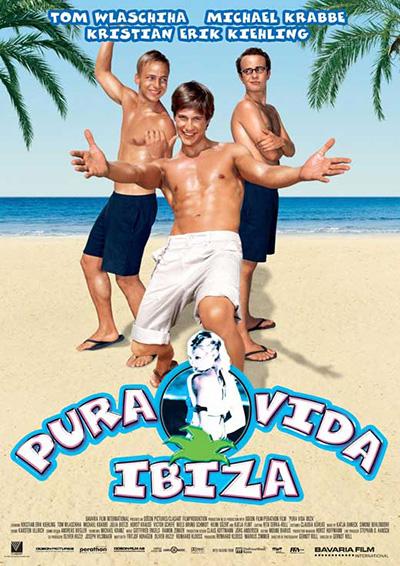 Pura vida Ibiza cartel