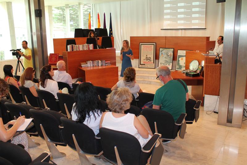 Presentación de la Ibiza Film Office en el Consell Insular d'Eivissa