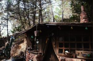 cabaña hippie en ibiza localizacion para grabaciones