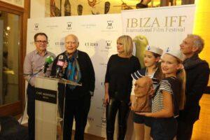 Antoni Isasi en el Festival de Cine de Ibiza
