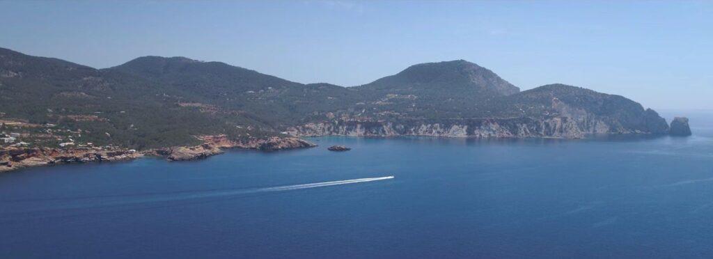 Localización del rodaje del spot de Lexus en Ibiza