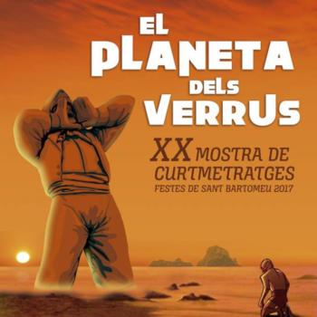 Cartel de la XX Edición del Festival de Cortos Incortum en Ibiza