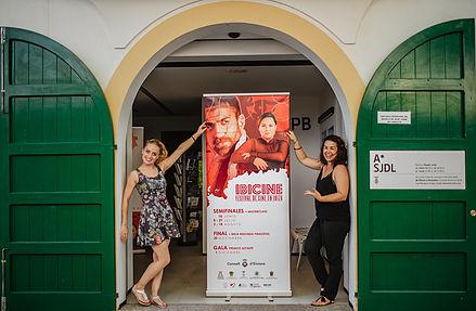 Cartel del Festival de Cine Ibicine de Ibiza