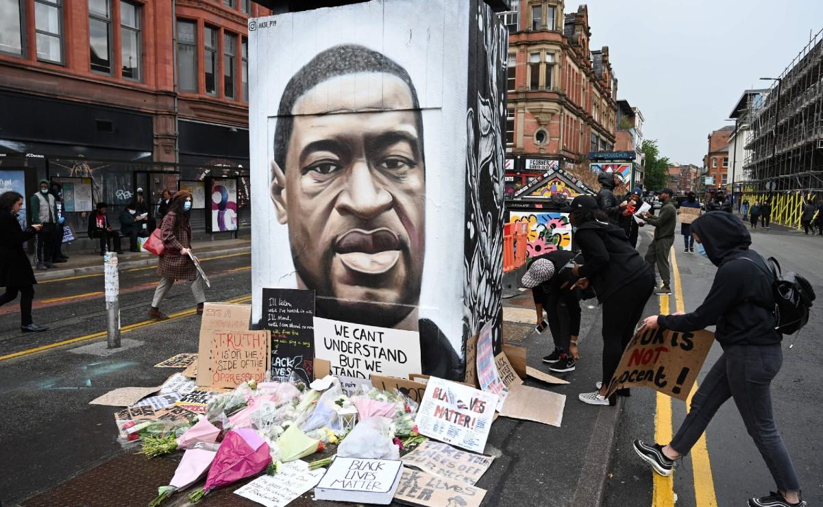 Homenaje a George Floyd tras su muerte en las calles de EE.UU.