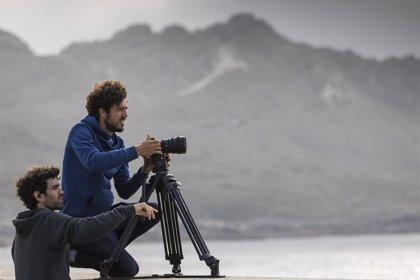 Filming in spain